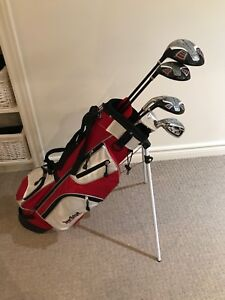 Kids Left Hand Golf Clubs for 8-11 yr olds