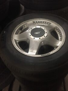 Ford Winstar factory wheels with almost new tires