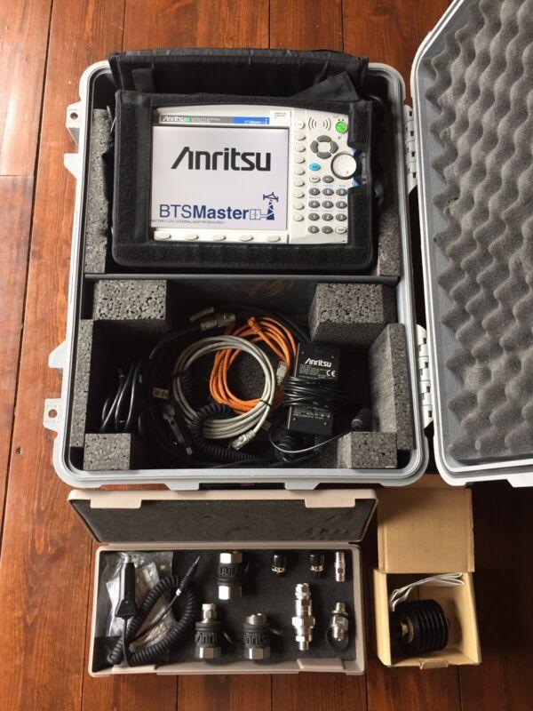 Anritsu MT8221B BTS Master Spectrum / Antenna Base Station Analyzer, Power Meter
