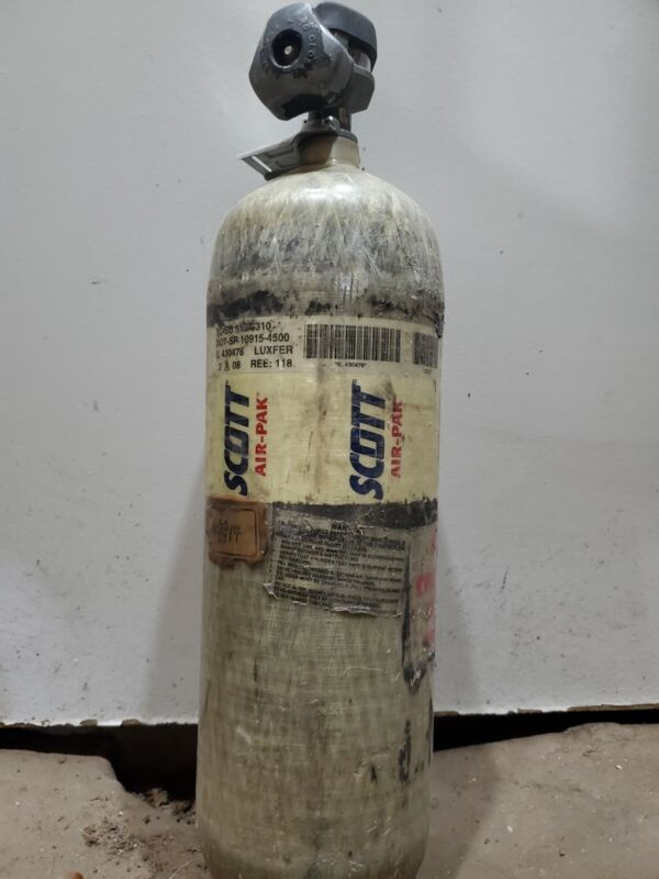Scott 4500 Psi Scba Tank Bottle 2008