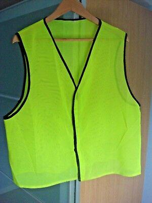 Yellow High Visibilty Vest