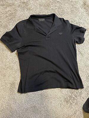 Prada Men's Polo Shirt Medium