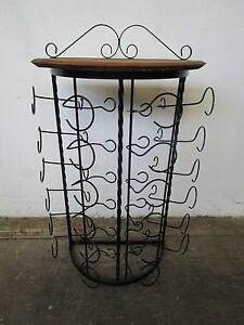 D5078 Wrought Iron Wine Rack Barossa Valley Winery Mount Barker Mount Barker Area Preview