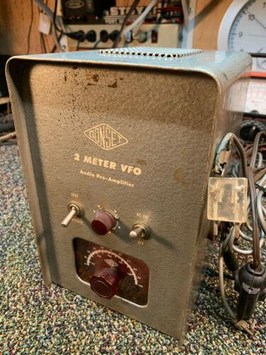 1956 Gonset Model 3024 2-Meter VFO Audio Pre-Amplifier