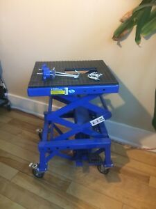 300lb dirt bike/motorcycle lift.  Brand new