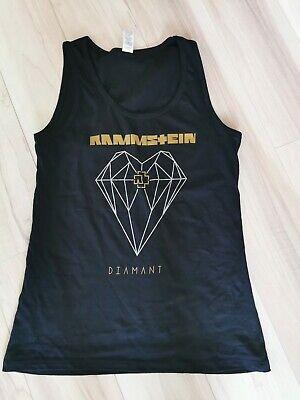 Diamant-damen Shirt (Original RAMMSTEIN DIAMANT Oberteil Damen Gr. S Shirt *TOP NEU Konzert Frankfurt)