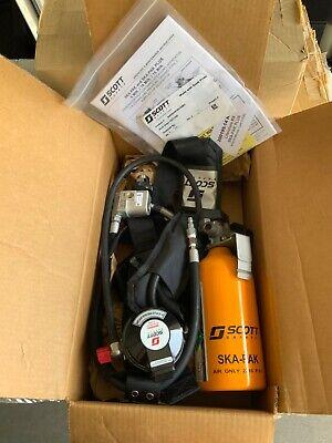 New Scott Ska-pak Plus 5min Escape Saba Emergency Bottle Remote Mobile Air Scba