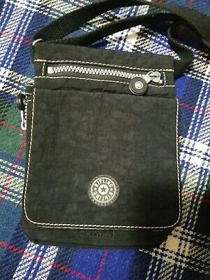 """KIPLING Small Purse Crossbody El Dorado Travel Wallet Organizer Bag 8×6"""" str 26"""""""