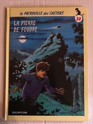 BD La Patrouille Des Castors La Pierre De Foudre Dupuis Mitacq EO 1993