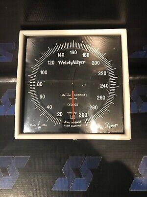 Welch Allyn Tycos Blood Pressure Sphygmomanometer Aneroid Bp Wall Swivel Mount