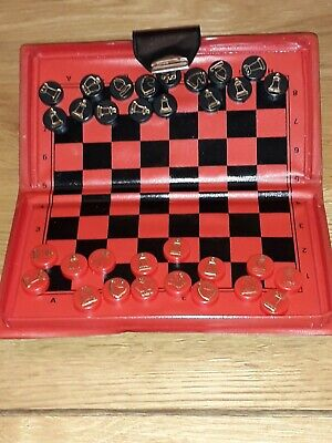 Vintage Travel Magnetic  Chess Set Pocket Size Liverpool Cathedral Souvenir for sale  Shipping to Nigeria
