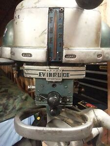 1948 Evinrude Sportwin 3.3  and 1954 Evinrude fastwin 15