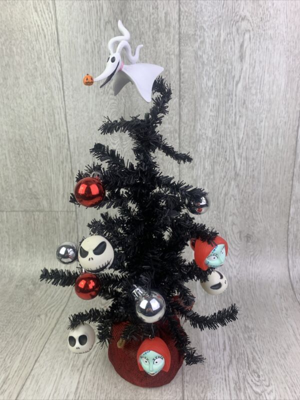 "Disney's Tim Burtons The Nightmare Before Christmas 15"" Decorated Christmas Tree"
