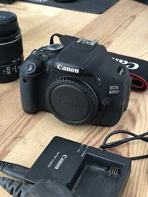 Canon EOS 600D 18.0MP Digital SLR Camera - Beginner Kit