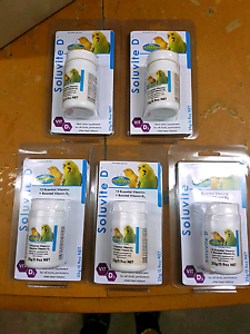 Soluvite D Bird Vitamin Priced to Clear Wattle Grove Kalamunda Area Preview