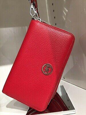 NWT MICHAEL KORS Round Zip Large Multifuntion Phone Case/Wallet/Wristlet $158