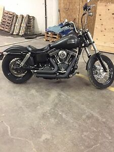 Harley  Street Bob 2013 Stage 2 Low KM