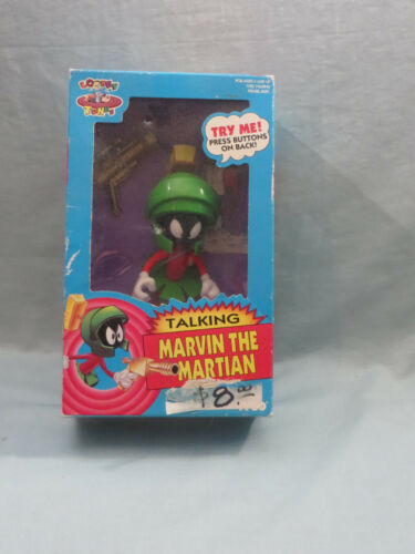 1993 Tyco Marvin The Martian Talking Figure SEALED