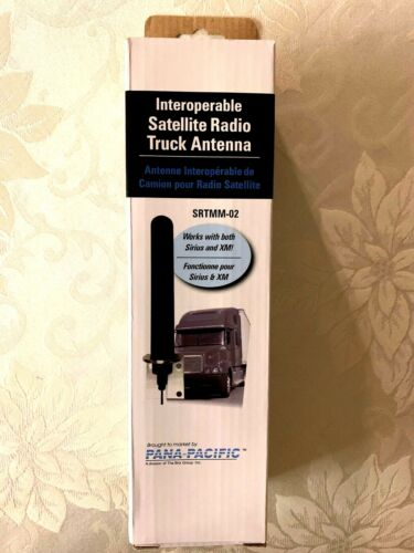 NEW Pana Pacific Sirius XM Interoperable Satellite Radio Truck Antenna SRTMM-02
