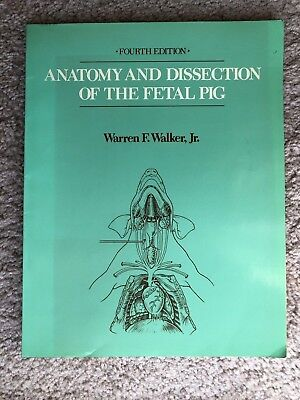 Anatomy And Dissection Of The Fetal Pig - Walker
