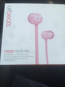 New Beats by dre earbuds