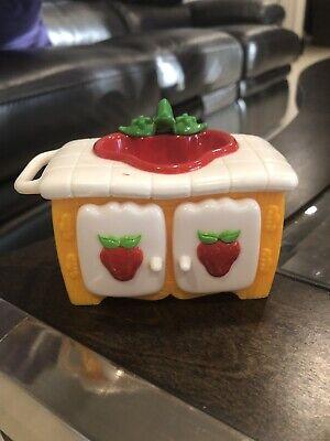 Vintage 1980 S Strawberry Shortcake Berry Happy Home Furniture Kitchen Sink Euc Dolls Bears