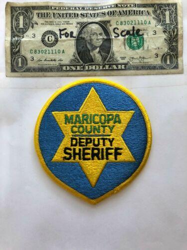 Maricopa County Arizona Police Patch Un-sewn in mint shape