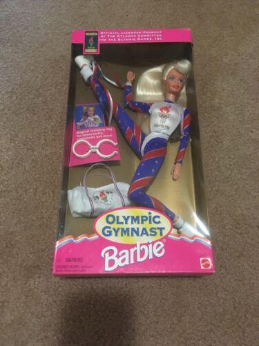 """Barbie"" 1996 Olympic Gymnast Doll Mattel #15123 - New"