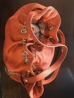 Michael Kors Leather Purse Orange