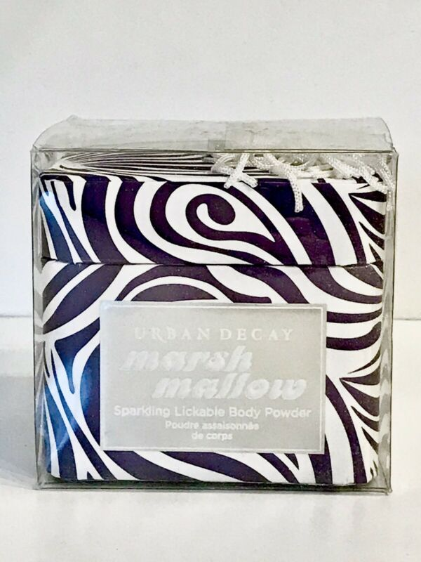 Urban Decay  Sparkling LICKABLE BODY POWDER - Marshmallow. New In Box .78oz