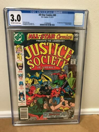 All Star Comics #69 CGC 3.0 - First Appearance Huntress