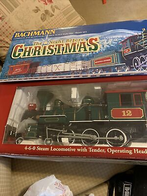 Bachmann The Night Before Christmas Authentic Large Scale Electric Train Set NIB