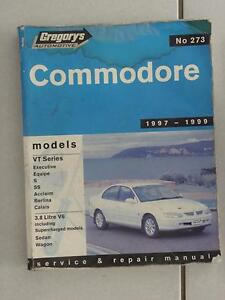 273 Gregory's Commodore Workshop Manual Narangba Caboolture Area Preview