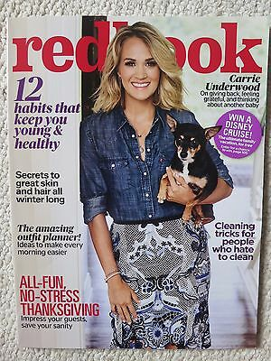 Redbook Magazine November 2016 Carrie Underwood Habits That Keep You Young
