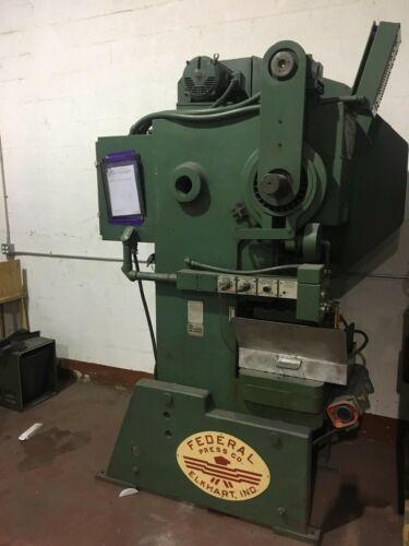 Federal 45 Ton 3 Stroke Stamping Press