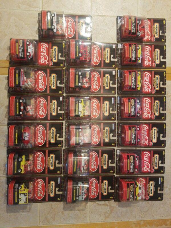 Coca-Cola Matchbox Collectibles Lot