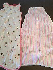 Girls lightweight summer sleeping bag bundle 6-12 mo Woodside Adelaide Hills Preview
