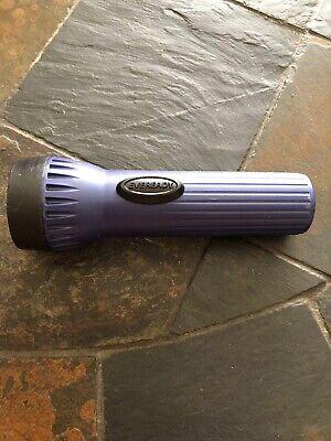 Vintage Eveready Purple Plastic Flashlight
