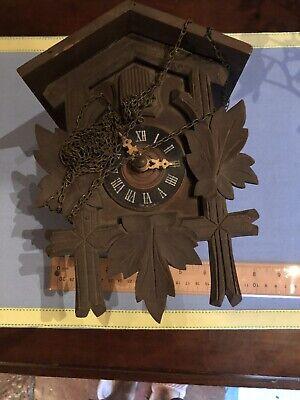 Vintage German Wooden Cuckoo Clock