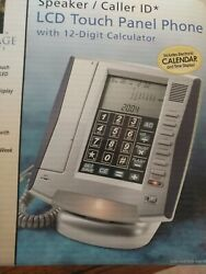 New Innovage LCD Touch Panel Phone Caller ID Speaker
