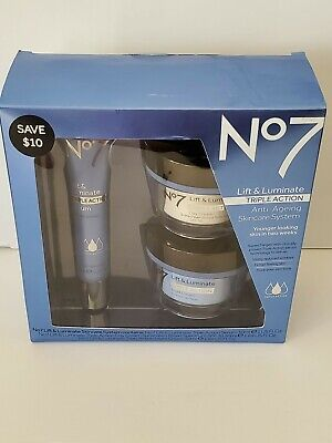 Boots No7 Lift & Luminate  Triple Action Serum Anti-Ageing Skincare System