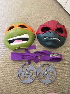 Teenage Mutant Ninja masks