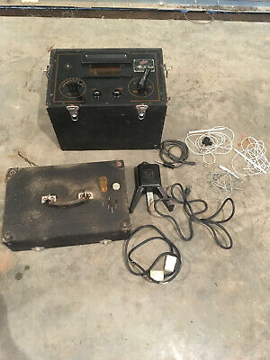 Vintage - Historical L-f Portable Bovie Electro-surgical Unit 4 - Gap Model