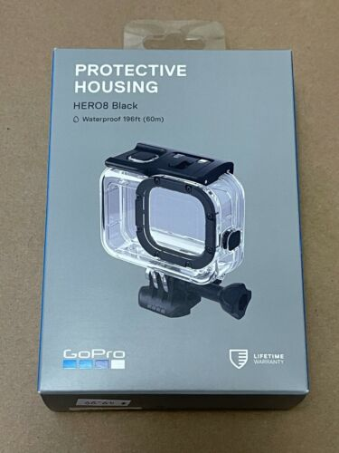 NEW GOPRO PROTECTIVE HOUSING WATERPROOF CASE FOR HERO8 BLACK FAST FREE SHIPPING