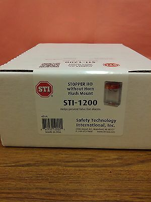 Stopper II Protective Covers for pull stations, Clear cover, STI Model #STI-1200