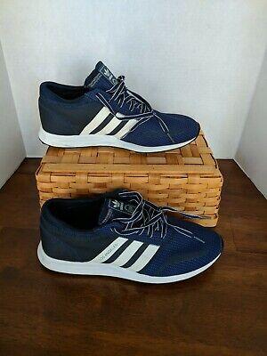 Adidas Originals LA Mens Navy US 10.5 Los Angeles Trainers s42029 Continental