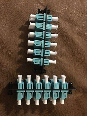 Panduit Fap12waqdlcz Fiber Adapter Panel 12 Duplex Lc Adapter