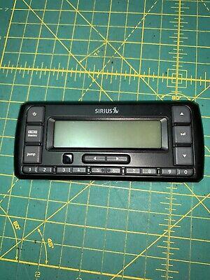 Receiver only no Accessories Sirius SV5 Stratus 5 Satellite Radio Receiver