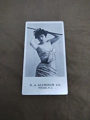 Vintage Aluminum Postcard Photo NJ Aluminum Co. Newark 1 Cent Art Deco UNPOSTED