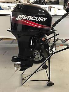 Mercury 40HP Tiller Control Outboard Rockingham Rockingham Area Preview